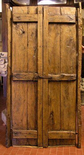 Maniglie porte antiche idee per la casa - Porte esterne rustiche ...