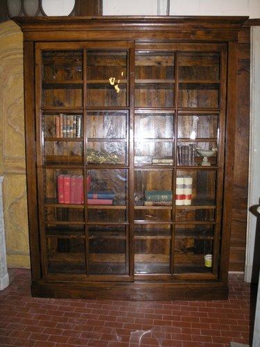Libreria Ante Scorrevoli Vetro.La Casa Antica