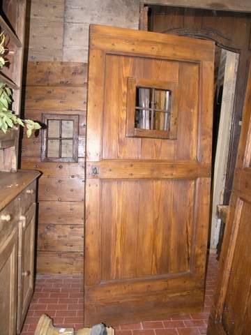 La casa antica for Porte antiche rustiche